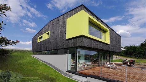 Haus Bauen Mit Grundstück 2632 by Traumh 228 User Ein Haus Aus Feuer Und Glas Facade