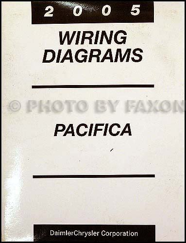 2005 chrysler pacifica wiring diagram 2005 chrysler pacifica wiring diagram manual original