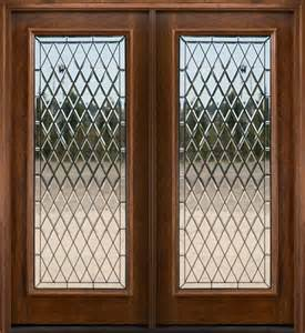 Glass Inserts For Exterior Doors Exterior Doors In Mahogany