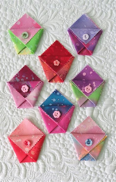 Origami Gift Bags - new pockets with geta s quilting studio