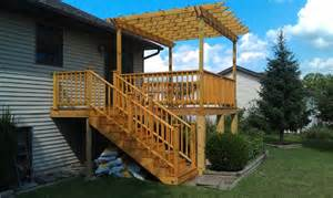 raised deck plans amazing elevated deck plans to bring to landscape