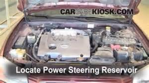 Nissan Maxima Power Steering Fluid Filter Change Nissan Maxima 2000 2003 2002