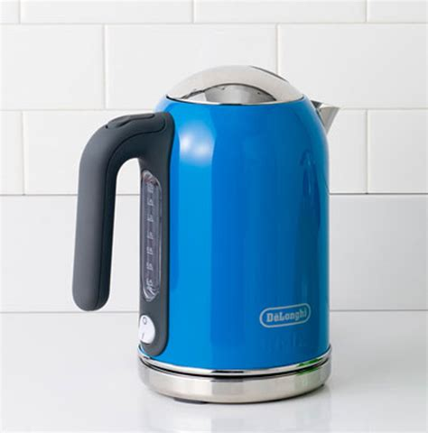 colored small kitchen appliances cool blue kettle kitchen appliance