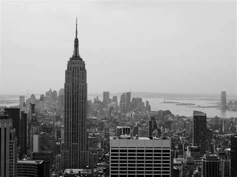 black and white wallpaper of new york new york skyline wallpapers wallpaper cave
