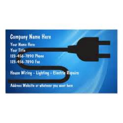 business cards electrician electrician business cards zazzle