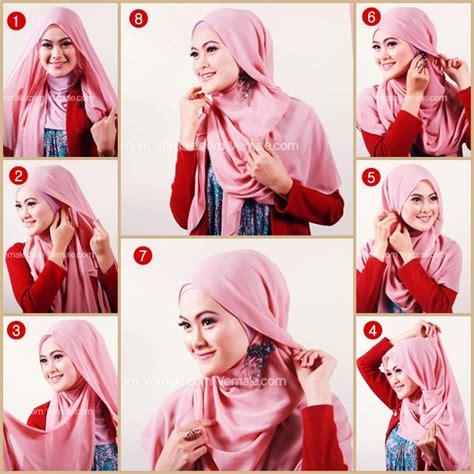 tutorial hijab segi empat simple ala zaskia sungkar tutorial hijab paris segi empat ala zaskia sungkar hijab