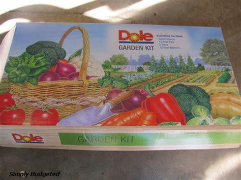 patio dole dole food company garden kit