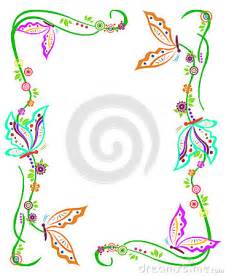 butterfly border royalty free stock photo image 37632475