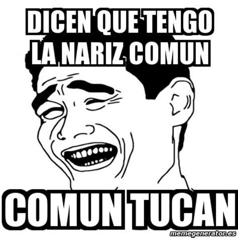 Yao Ming Meme Generator - meme yao ming 2 dicen que tengo la nariz comun comun
