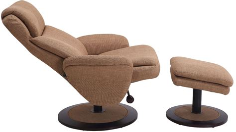 recliner with ottoman fabric denmark taupe fabric swivel recliner with ottoman denmark