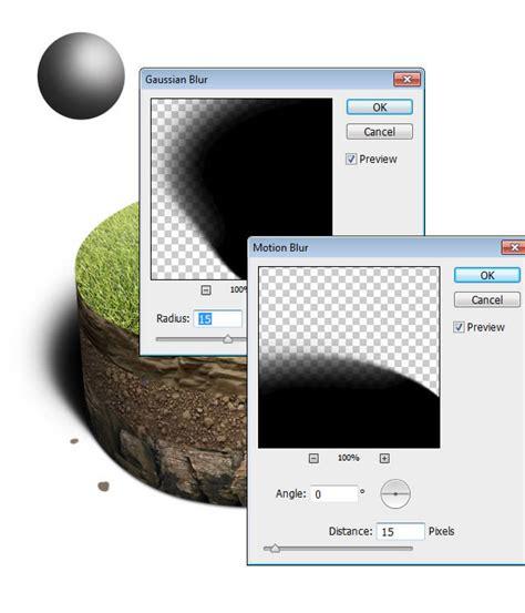 Masker Elips design buat kue tanah untuk charts pie dan infografis