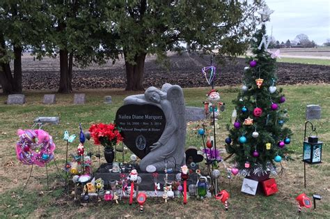16 in solar powered christmas tree for cematery in of amanda the panda comforts those who mourn theperrynews