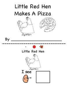 Printable Version Of Little Red Hen | little red hen coloring page coloring 3 pinterest