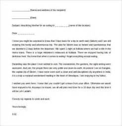 Template For A Friendly Letter by Friendly Letter Templates 49 Free Sle Exle