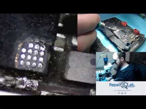 scratching iphone 6 cpu to fix error 9 part 1