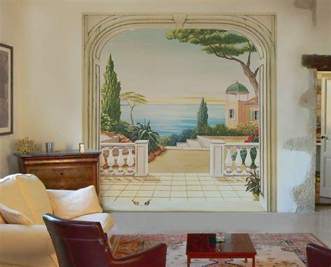 Wall Mural Poster d 233 cor paysage en trompe l oeil pour agrandir les pi 232 ces