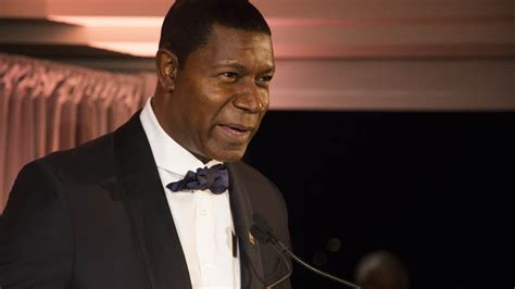 was dennis haysbert in the military military leaders and celebrity entertainers connect to