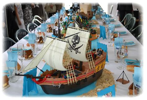 Decoration Theme Pirate decoration de table pirate