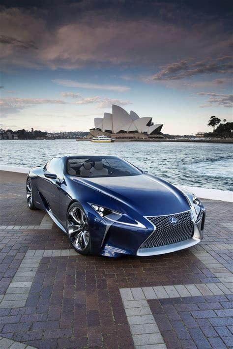 lexus lf lc blue lexus lf lc blue concept car concept futuristic