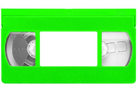 green vhs tape template by djwalker2000 on deviantart