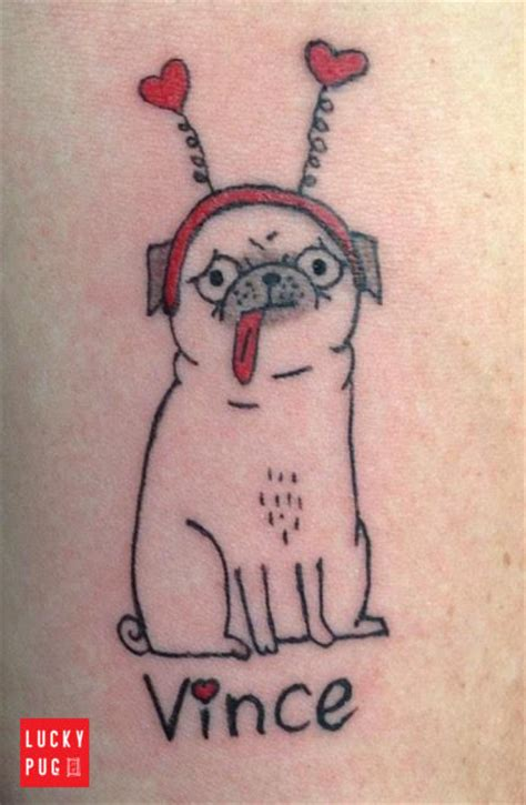 julie moon tattoo color arm pug tattoos picture gallery sleeve pug