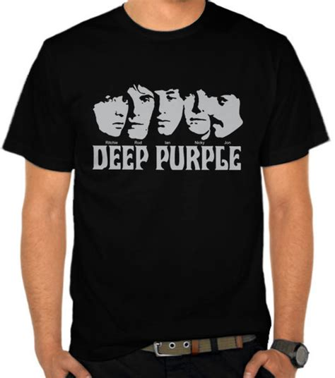 Kaos Joe Satriani Jstrn13 jual kaos purple band purple satubaju