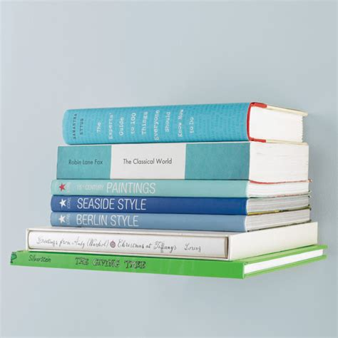 conceal book shelves by umbra the container store