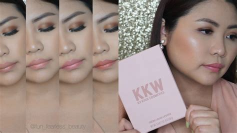 Kkw Creme Liquid Lipstick kkw x creme liquid lipstick review swatches and