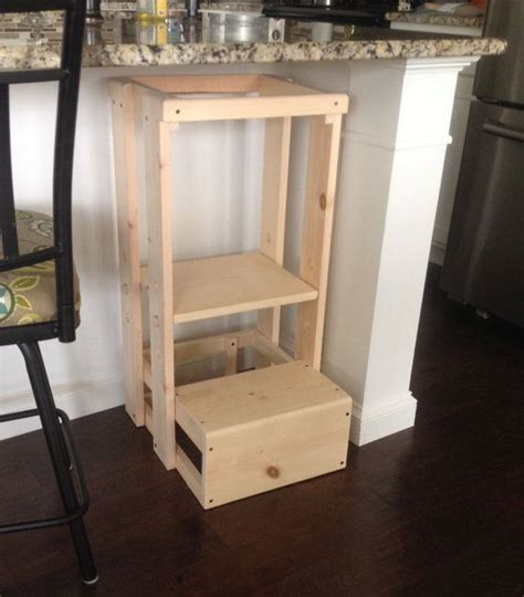 Kitchen Helper Safety Tower Step Stool by This Childs Kitchen Helper Step Stool Which Our Grandson