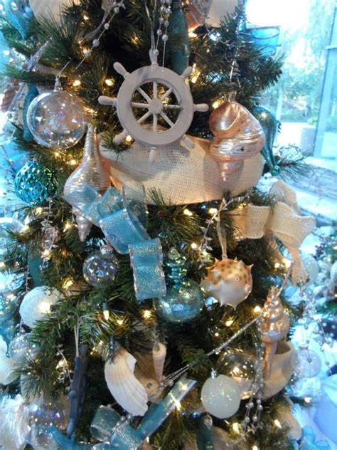 nautical christmas tree stuff for the holidays pinterest