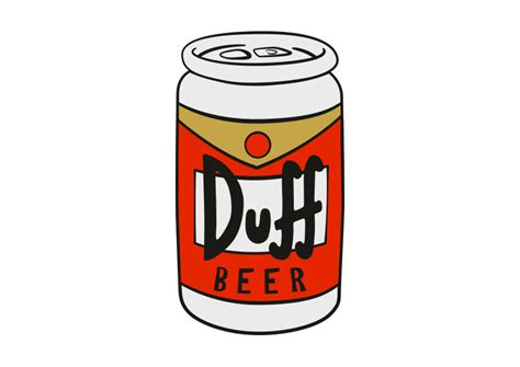cartoon beer can pin duff beer 1 on pinterest