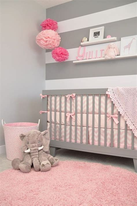 pink and grey girls bedroom only for moms pink and gray baby girl bedrooms