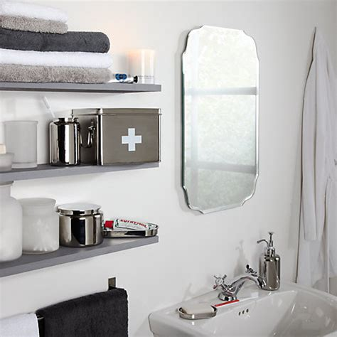 retro bathroom mirror buy john lewis vintage bathroom wall mirror john lewis