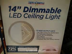 lights of america ceiling fixture lights of america 14 inch dimmable led ceiling light