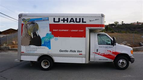 u haul at home u haul truck review moving rental how to 14 box