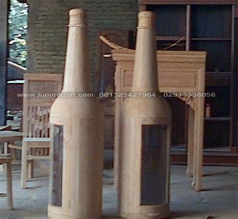Bufet Nakas Unik nakas botol minimalis kayu jati jepara ud lumintu