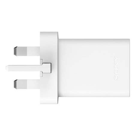 sony charger uch10 white official sony uch10 qualcomm 2 0 mains charger