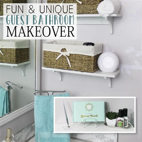 Unique Guest Bathroom Ideas Makeover