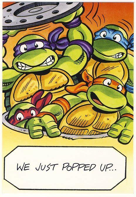 mutant turtles birthday greeting card tmnt