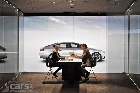 audi digital showroom audi launches showrooms without cars in london