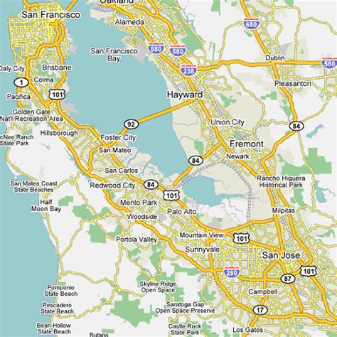 silicon valley map silicon valley business development in ict