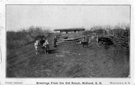 penny postcards  haakon county south dakota