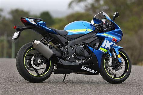 Suzuki Gsxr600 Review 2017 Suzuki Gsx R600 Cycleonline Au