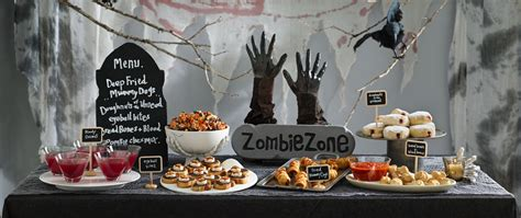 killer party themes 4 insider tips for a killer zombie party from pillsbury com