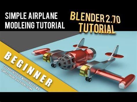 blender tutorial aircraft 20 best learn 3d box modeling in blender images on