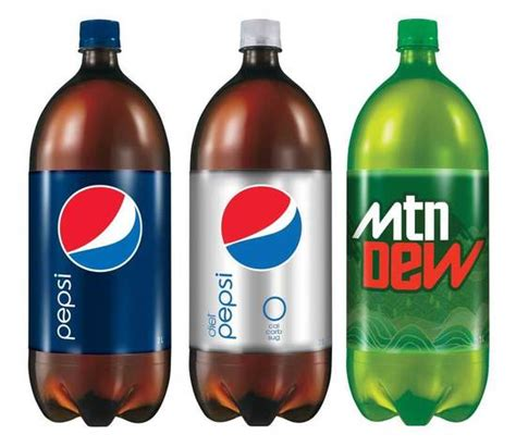 Big Cola Pet 3 1 Liter quot mtn dew quot cleans up their act the dieline packaging