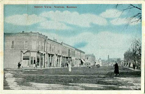 penny postcards  norton county kansas