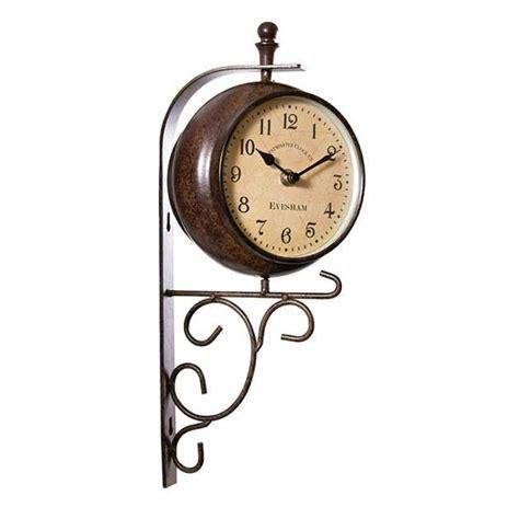Garden Wall Clock Home And Garden Wall Clocks Outdoor Wall Clock Thermometer