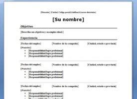 Descargar Modelo De Curriculum En Ingles Curr 237 Culum En Ingl 233 S Descarga Este Modelo Gratis