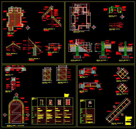 Cad Building Template Chapel Church 2 Complete